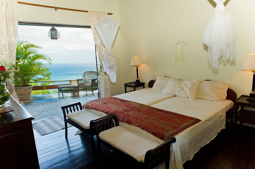 Dragonfly Villa Bequia - seaviews from every bedroom